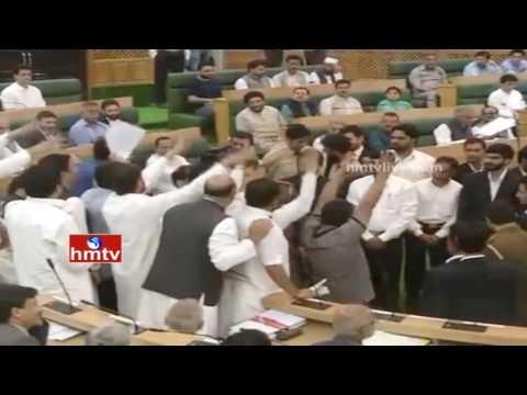 Handwara Encounter Row Hits Jammu and Kashmir Assembly | HMTV