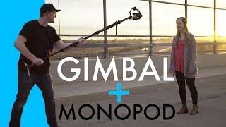 Gimbal + Monopod = Cinematic Crane Shots!
