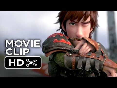How To Train Your Dragon 2 Movie Clip - Itchy Armpit (2014) - Animated Sequel Hd video