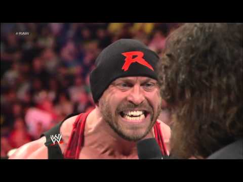 Mick Foley confronts Ryback: Raw, April 22, 2013