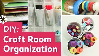 DIY Craft Room Organization Ideas! | Sea Lemon