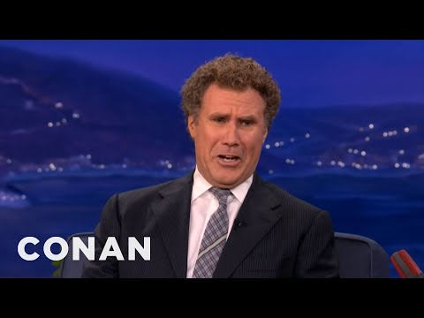 Will Ferrell Is All Busted Up Over Twilight s Kristen Stewart & Robert Pattinson - CONAN on TBS