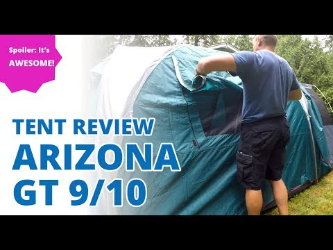 Arizona GT 9/10 Tent Review and First Impressions