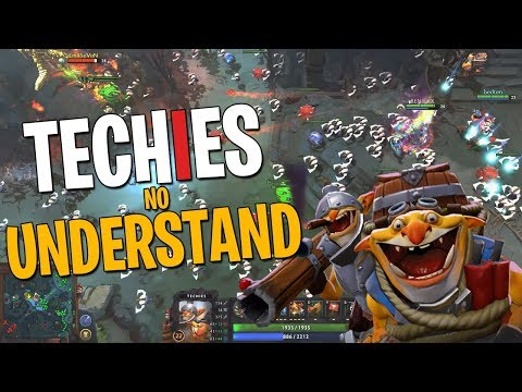 Techies No Understand - DotA 2 Full Match