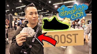 BIGGEST IMPULSE BUY $1000 SNEAKERS !!! @ SNEAKERCON LA