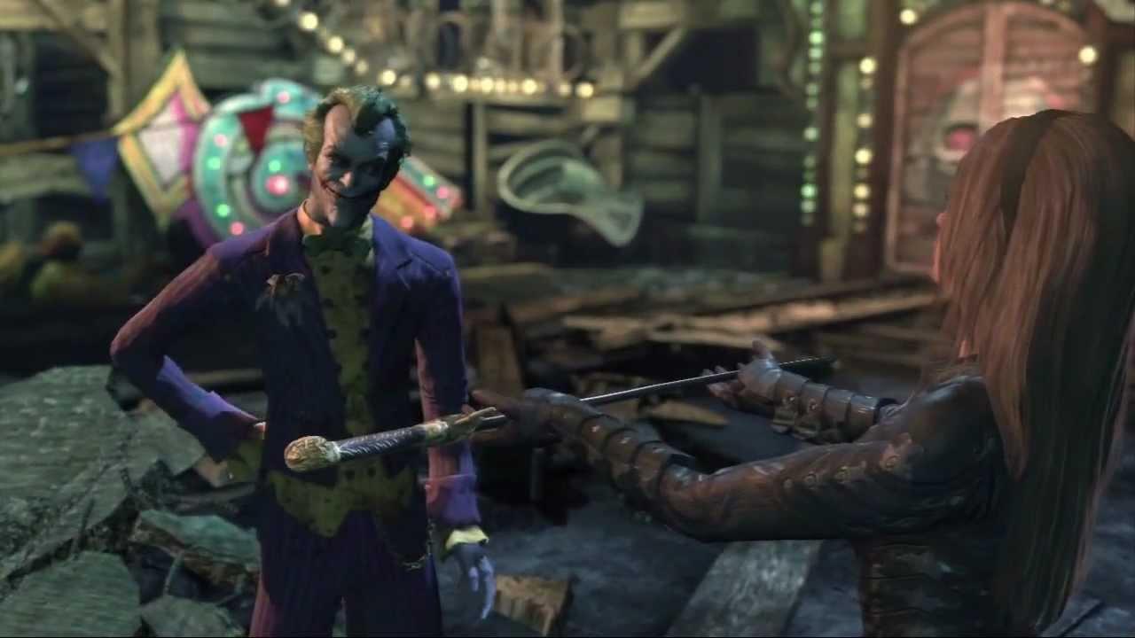 batman arkham city joker boss fightaccompanied by 15