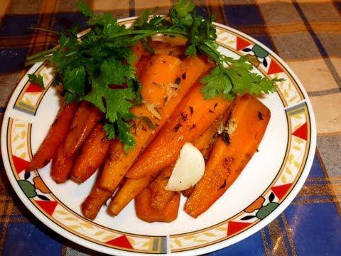 Морковь, Запеченная в Духовке по-Английски