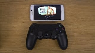 GTA San Andreas Samsung Galaxy S5 PlayStation 3 Controller Gameplay Test