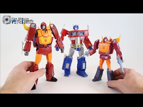 MP-28 Masterpiece Hot Rodimus (Hot Rod 2.0) Video Review
