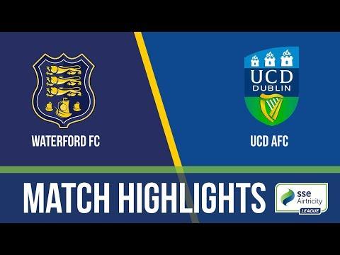 GW18: Waterford 1-0 UCD