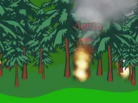 Cruz roja presenta incendios forestales youtube for Materiales para un vivero forestal