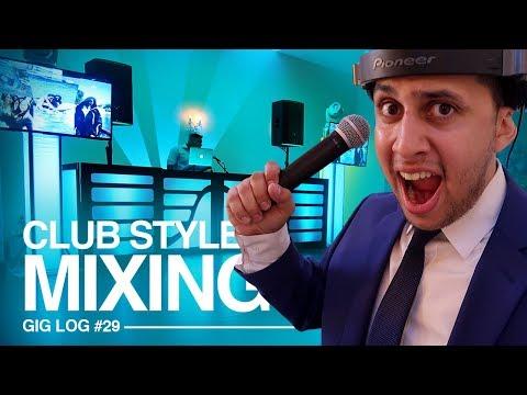 DJ GIG LOG: Club Style PARTY MIXING at a WEDDING | BIG DJ SETUP TOUR!