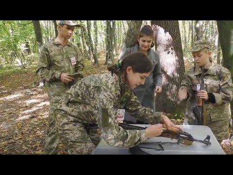Калуським школярам показали зброю з передової