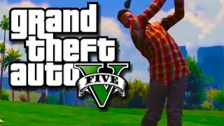 GTA 5 - Jordan Spieth Mobiles!! (GTA 5 Funny Moments and Races!)