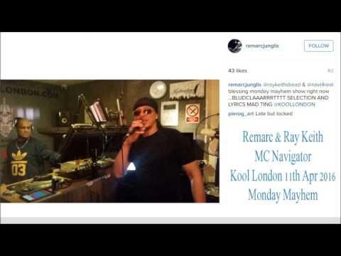 Remarc & Ray Keith with MC Navigator - Kool London 11.04.16