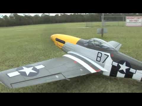FMS 1700mm P-51D Mustang R/C Electric Warbird Airplane (PNP)