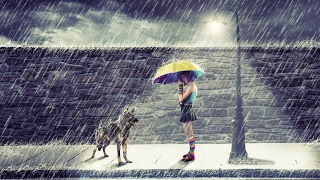 rain on the street photo manipulation | photoshop tutorial cs6/cc