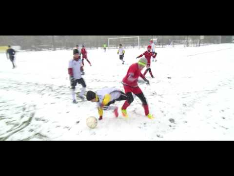 Зимний футбол. Дети.Алтай