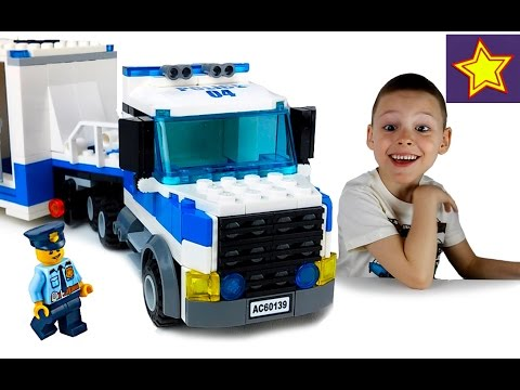 Машинки Полицейские LEGO City Полиция 60139 Мобильный командный центр + конкурс!