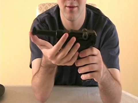 WE P08 Luger Disassembly and Reassembly