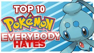 Top 10 Pokemon Everyone Hates Feat. HoopsandHipHop