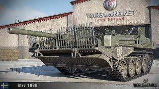 Strv_103B !!!!!!! ВЫ ПРОСТО ГЛЯНЬТЕ ЧТО ОН ТВОРИТ И КАК !!!!