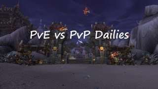 Mists of Pandaria 5.2 PTR - Isle of Thunder PvE vs PvP Dailies