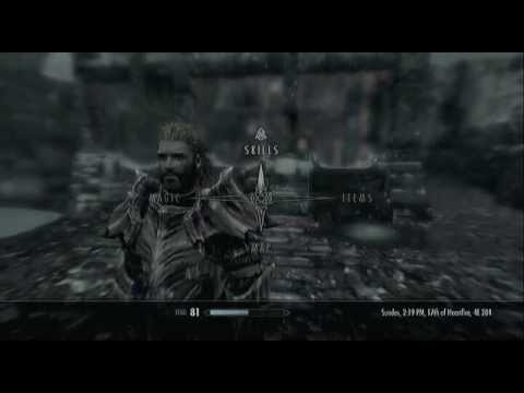 My Skyrim character level 81 xbox 360 (No Cheats or Glitches)