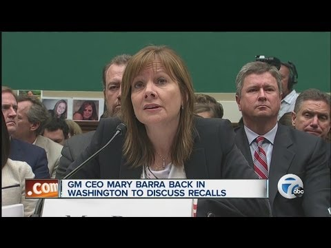Mary Barra testifies before Congress