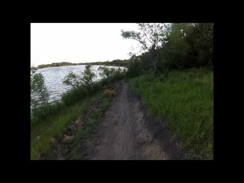 GoPro - Lake Mitchell (SD) Mountain Biking Trail