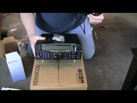 Unboxing of the new Kenwood TS-590s Amateur Transceiver & Heil Pro-Set 5 Headset