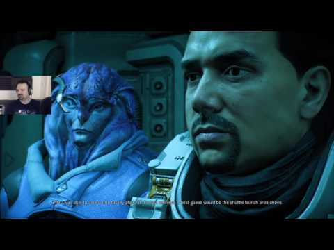Mass Effect: Andromeda playthrough pt45 - The Truth About the Kett, Revealed! Cardinal Boss