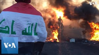 Protests, Clashes Around Iraq During Anti-Government Protests