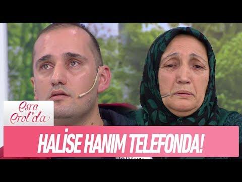 Halise hanım telefonda - Esra Erol'da 12 Ocak 2018