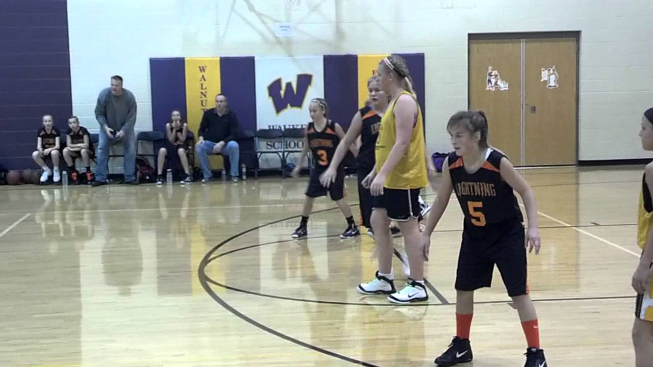 5th And 6th Grade Basketball Plays 6' Tall 6th Grade Girl Playing