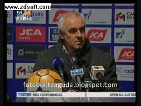 Jorge Regadas, o treinador que n�o fala