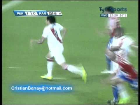 Peru 2 Paraguay 0 Eliminatorias Brasil 2014 Los goles