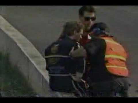 1991 Hardee's 500 - Rusty Wallace Crash