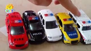 Đồ chơi trẻ em oto cảnh sát   Police car toys   Police Car For Children