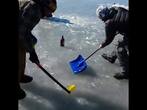 Curling with a Bottle