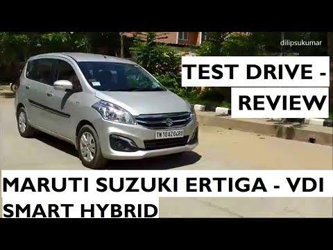 Maruti Suzuki Ertiga 2017  - Test Drive Review - VDI SHVS Limited Edition