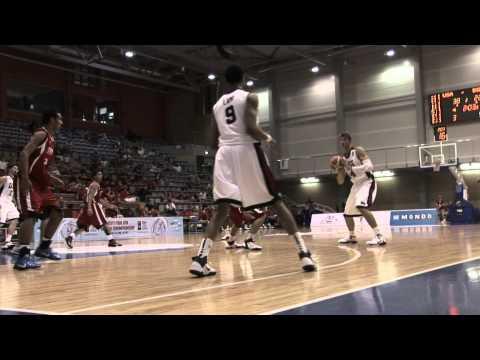FIBAU19 - USA v Egypt post game interviews
