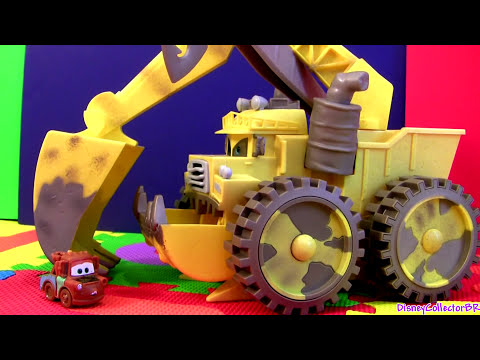 Screaming Banshee Tipping Colossus Micro Drifters Cars Disney Pixar Cars2 monster truck cartoys