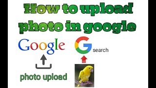 How to upload photo in google in bengali