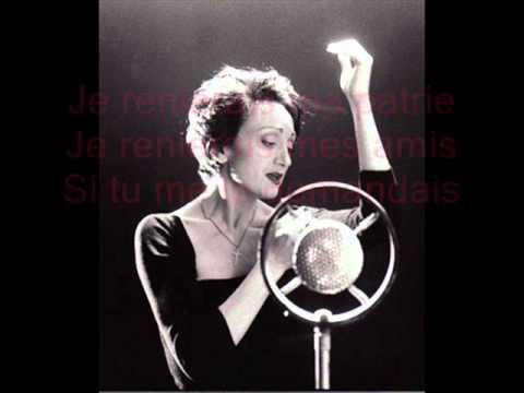 Эдит Пиаф - Hymne A Lamour