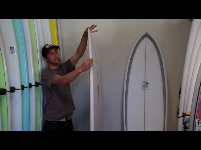 FCD Quark Surfboard