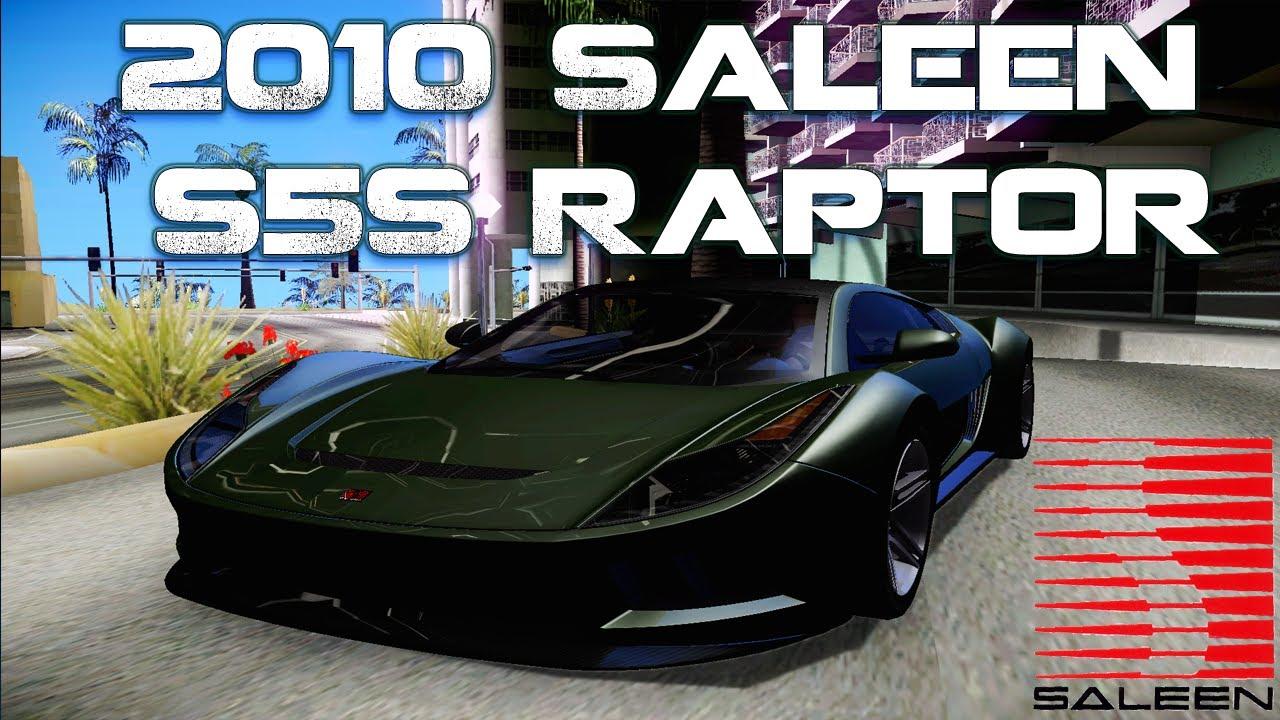 2010 Saleen S5s Raptor