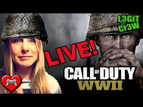 Call of Duty WW2 Live Saturday Night Drunk Stream! Part 2
