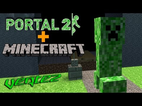 [#1] Minecraft + Portal 2 - Escape - Vertez