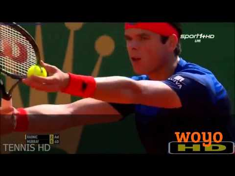 Andy Murray vs Milos Raonic Highlights MONTE CARLO 2016